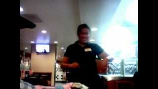 $100 Tip  At Denny's - Elisa  Video #1