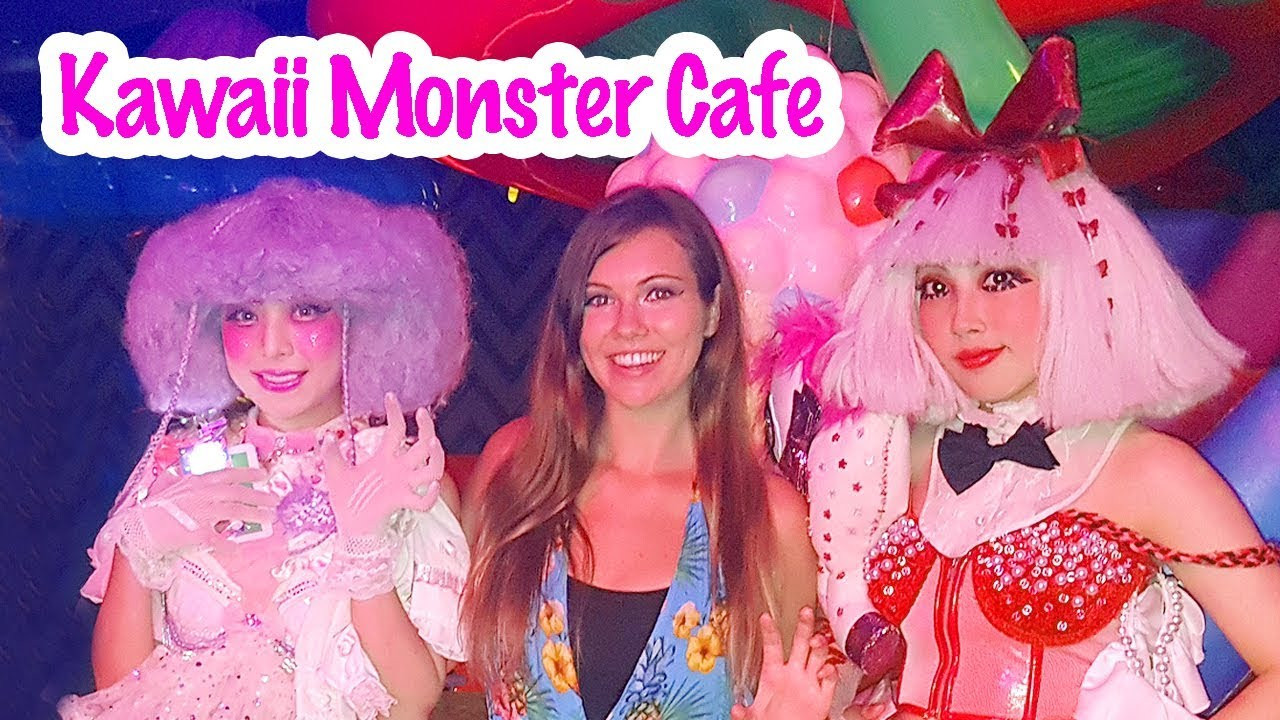 Kawaii Monster Cafe In Harajuku Tokyo Japan