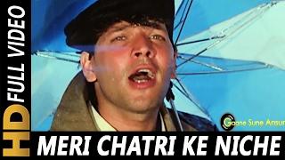 Meri Chatri Ke Niche Aaja | Mohammed Aziz, Anu Malik, Sudesh Bhosle | Tahalka 1992 Songs