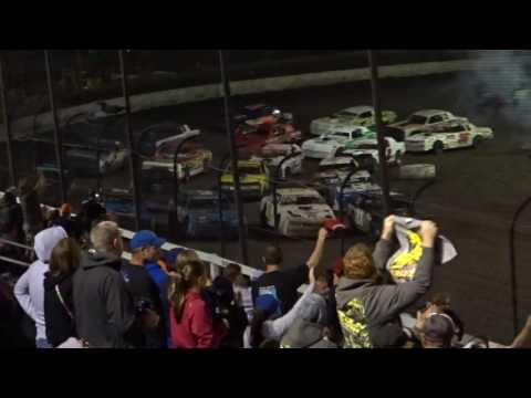 Macon Speedway SS  John Osman Memorial Race parade lap