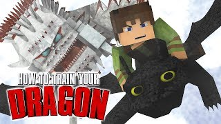 Minecraft - How to Train Your Dragon Mod! (Realistic Dragons)