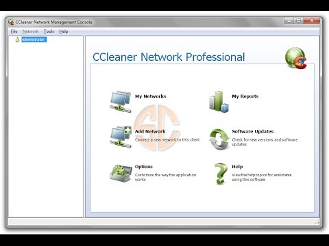 CCleaner Network Professional Webinar (Old Version)