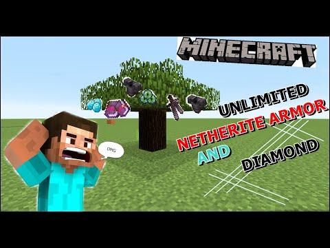Minecraft , BUT TREES DROP OP ITEM !!