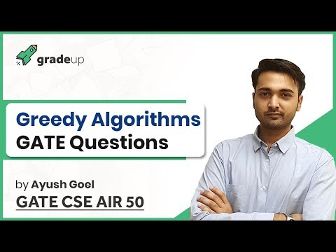 Greedy Algorithm GATE Questions and Solutions | Huffman