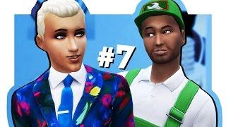 The Sims 4 Жизнь В Городе #7 Диего или Олежа?
