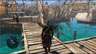GTX 1060 6GB + i5 7500 -Assassin's Creed IV: Black Flag [Max Settings/1080p] (PhysX OFF)