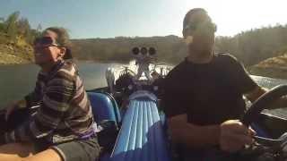 Sanger V-drive at Millerton Lake