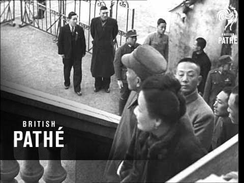 Chiang Kai Shek In Shanghai (1940-1949)