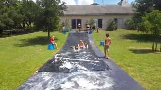 Lake Medina Slip n Slide