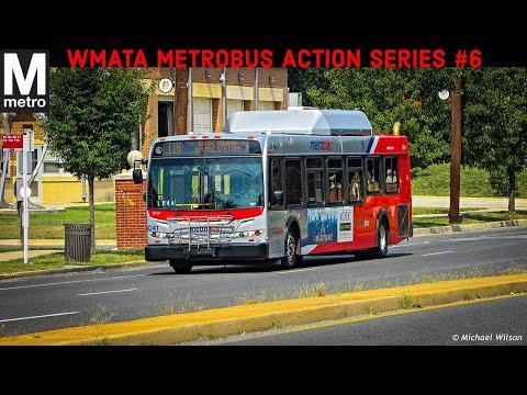 WMATA Metrobus Action Series #6