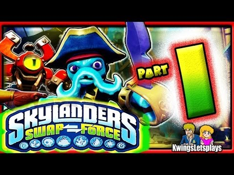 Skylanders Swap Force Wii U - Walkthrough Part 1 Mount Cloudbreak co-op Gameplay!