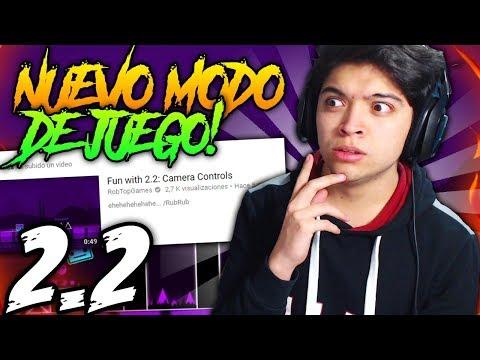 NUEVO MODO DE JUEGO GD 2.2 l REACCIONANDO A NUEVO VIDEO DE ROBTOP!!!