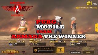 ARMADA THE WINNER 37 KILL - PUBG MOBILE