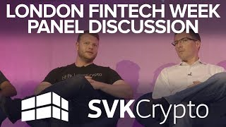 FINTECH BLOCKCHAIN WEEK DAY 2 LONDON 2018!