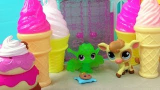 Lps Prism Peak Mountain - Kream's Ice Creamery Part 6 Littlest Pet Shop Series
