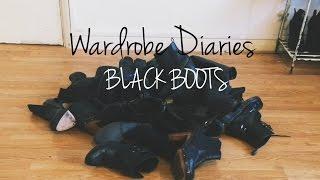 Wardrobe Diaries - BLACK BOOTS | AnnieDreaXO Thumbnail