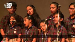 Group Singing / Choir Performance by students of Manav Rachna International School, Gurgaon, Haryana