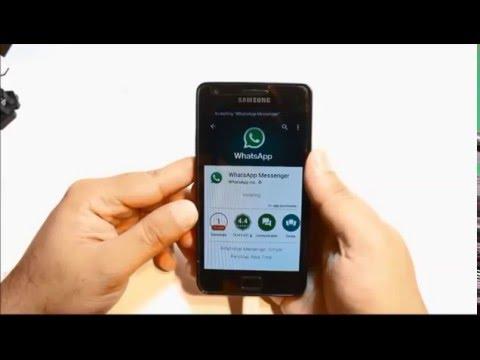 Скачать WhatsApp на телефон Samsung