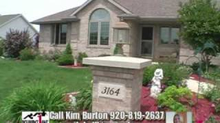 FREE NARRATED VIDEO TOUR WITH LISTING (SAMPLE)-OPEN CONCEPT HOME Green Bay, WI Kim Burton Realtor