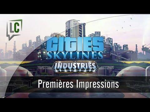 Le meilleur DLC depuis longtemps ! - Cities Skylines : Industry