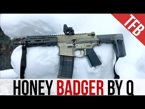 The Most Iconic 300 Blackout: Q's Honey Badger
