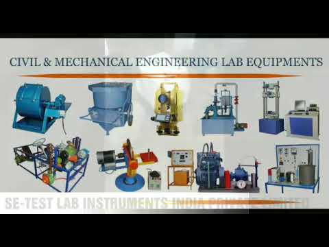 Civil Engineering Lab Equipment Manufacturers, Suppliers, Exporters India