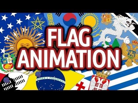Flag Animation (all 196 Flags Of Sovereign Countries)