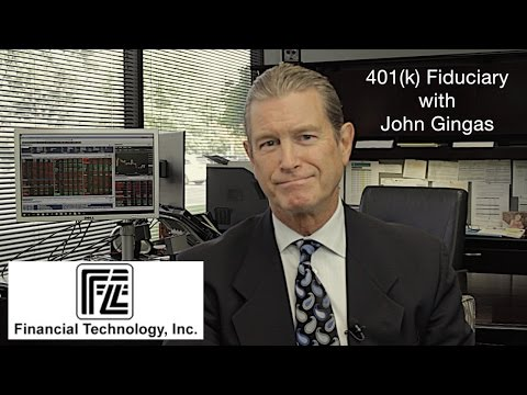 Financial Technology, Inc. - 401k Fiduciary with John Gingas
