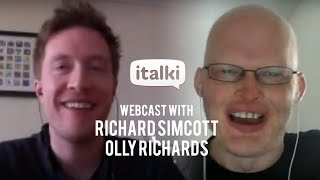 italki: Webcast with Richard Simcott and Olly Richards