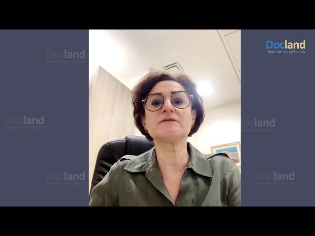 Доктор Ирина Стефански, заведующая онкологическим отделением больницы Ихилов