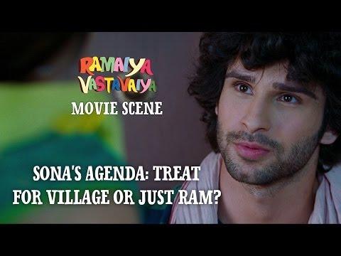 sona's-agenda:-treat-for-village-or-just-ram?---ramaiya-vastavaiya-scene---girish-&-shruti