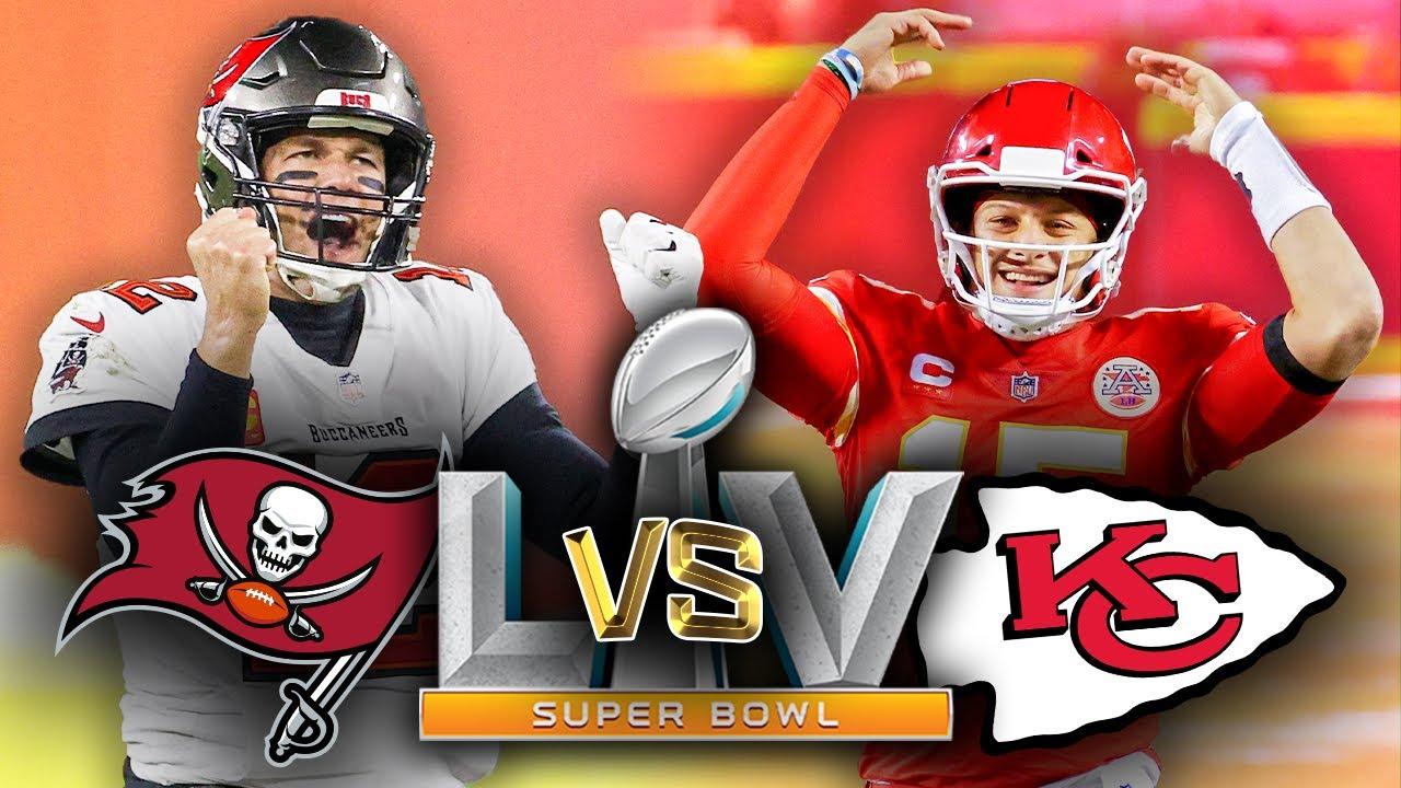 Super Bowl 55: Brady vs. Mahomes WINNER REVEALED! - YouTube