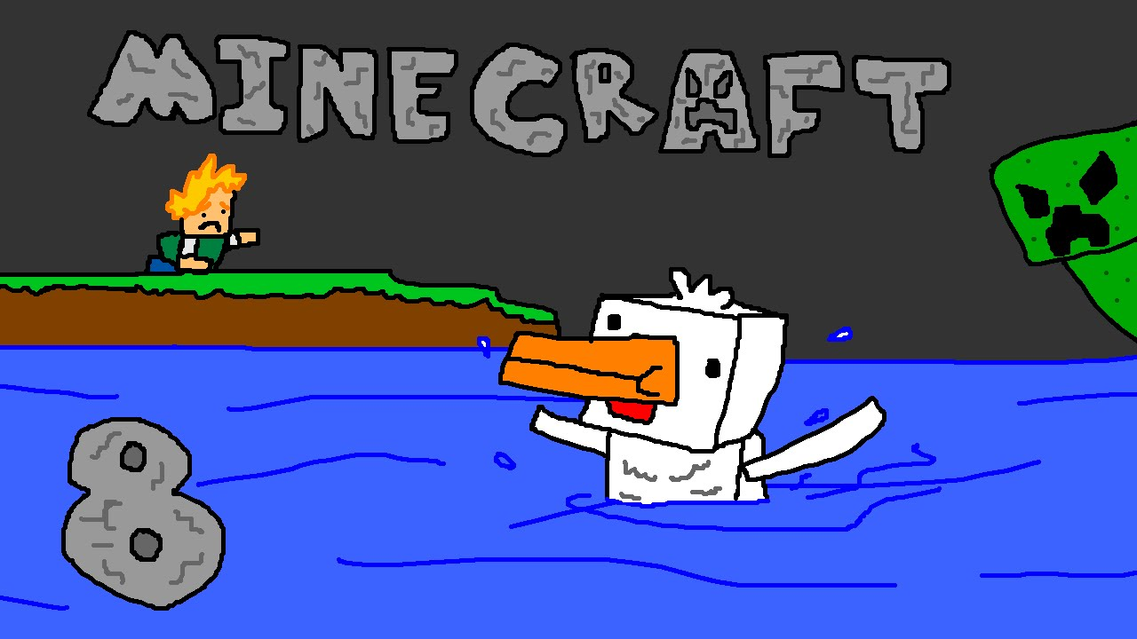 Minecraft swimming chickens part 8 youtube for Swimming chicken