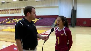 CSUDH Volleyball vs. UC San Diego Highlight and Interview