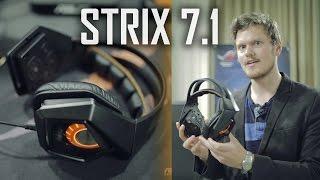 ASUS STRIX True 7.1 Surround Sound Gaming Headset Thumbnail