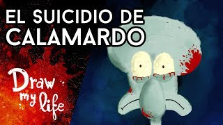 La TERRIBLE MUERTE de CALAMARDO - Creepy Draw