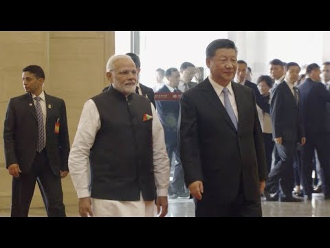 President Xi visits museum with Indian PM Modi in central China's Wuhan