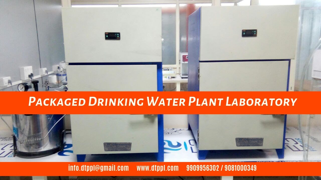 Packaged Drinking Water Plant Laboratory