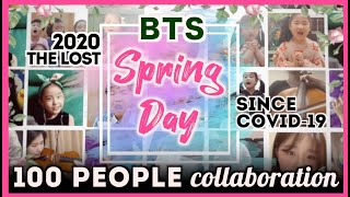 100 students & citizens who lost their Spring sing BTS Spring Day cover with ARMY