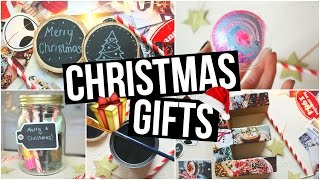 DIY Christmas Gifts! Cute Holiday Present Ideas! 🎁
