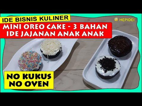 mini-oreo-cake-lembut-3-bahan-no-kukus-no-oven.-ide-jualan- -mini-oreo-cake-business-idea- -hepidei