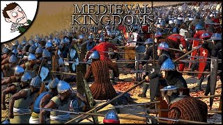 MASSIVE 10,000 MAN CRUSADER SURVIVAL! Medieval Kingdoms Total War (Attila Mod)