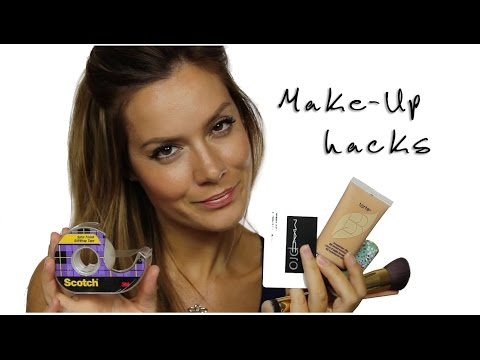 MakeUp Hacks / Tips & Tricks For Make-Up Application | Shonagh Scott | ShowMe MakeUp
