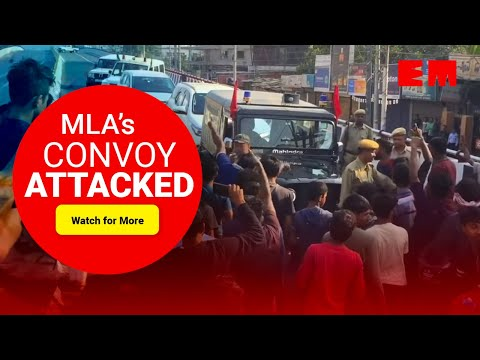 CAB Stir: Assam BJP President Ranjit Kumar Das' Convoy Attacked