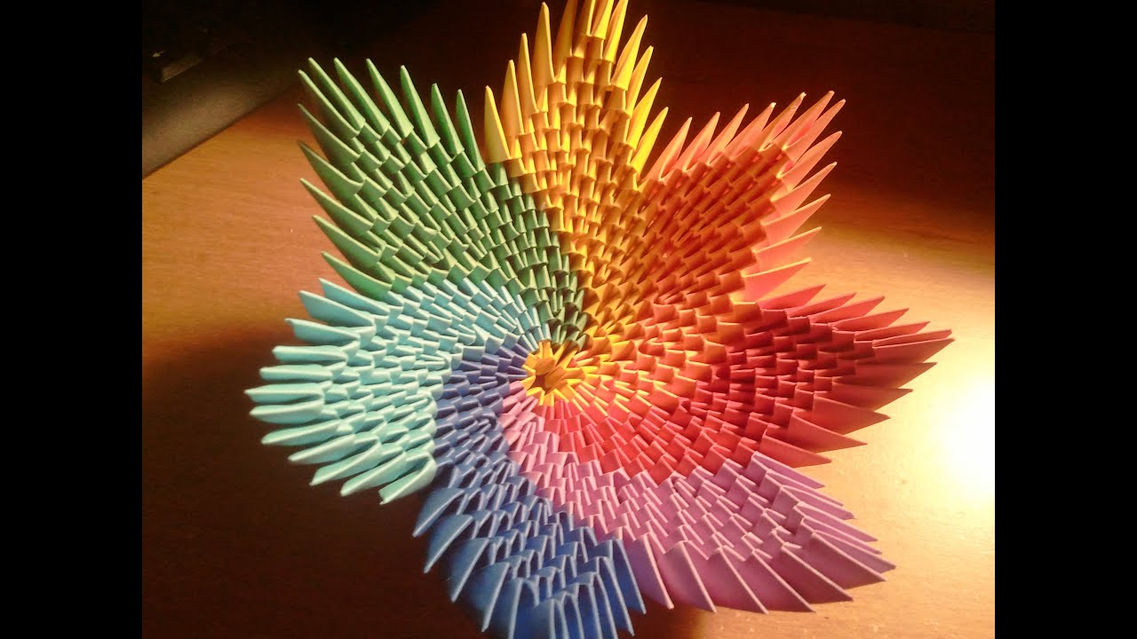 How To Make Rainbow Spiral Vase Bowl Youtube