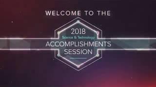 2018 S&T Accomplishments Session Kickoff Video