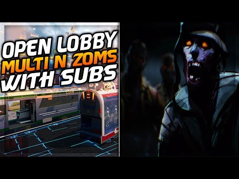 PLAYING ZOMBIES AND MULTI WITH SUBS LIVE! OPEN LOBBY! (INTERACTIVE STREAMER)
