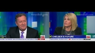 FULL - CHELSEA  HANDLER SLAMS  EMBARRASSES PIERS MORGAN ON HIS OWN CNN SHOW - BITCH VS FOREIGNER