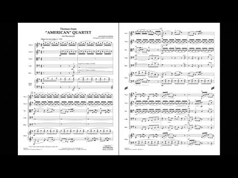 Themes from American Quartet, Mvt. 1 by Antonin Dvorak/arr. Jamin Hoffman