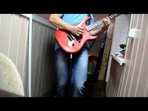 D. Ustenkov -  Mariah Carey/Neal Schon Hero Guitar Cover